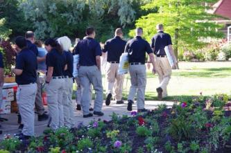 WSU Law Enforcement Cadets