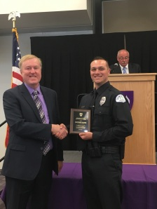 Matthew Hassig, WSU Law Enforcement Academy Graduation
