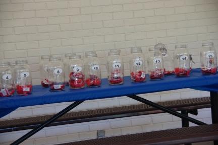 Raffle jars